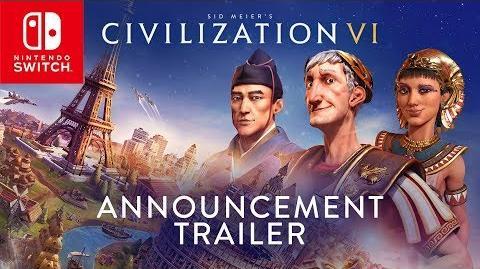 Civilization VI - Nintendo Switch Announcement Trailer-0