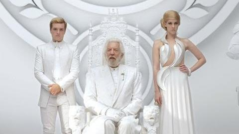 "The Hunger Games Mockingjay Part 1 ""President Snow's Second Panem Address Unity"""