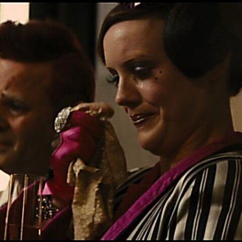 Octavia i Flavius oglądający wywiad Cashmere i Glossa