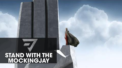 "The Hunger Games Mockingjay Part 2 Motion Poster – ""Stand With The Mockingjay"""