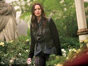 Katniss w więzieniu-ogrodzie Snowa