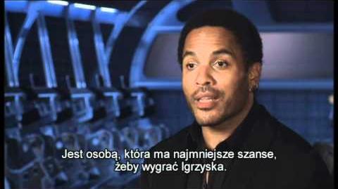 Igrzyska śmierci - Lenny Kravitz o filmie