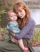 Annie z synkiem