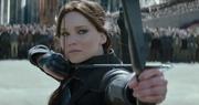 Katniss na egzegucji prezydenta Snowa