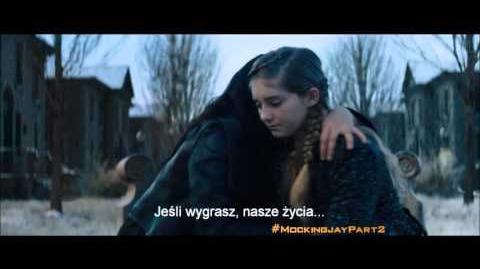 Igrzyska Śmierci Kosogłos Mockingjay - Część 2 - TV Spot 2 (Jej historia) napisy PL