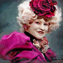 Effie trinket by dewmanna-d4um3id