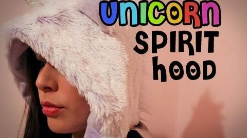 Unicorn Spirit Hood