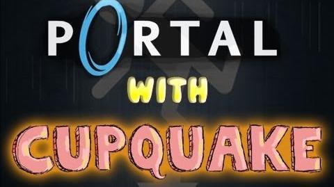 """Portal With Cupquake Ep.1 """"Noob"""""""