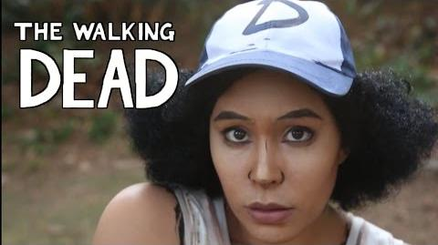 Clementine Makeup - Walking Dead Cosplay - Tutorial