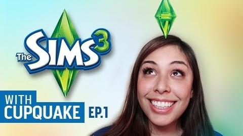 Sims 3 with Cupquake