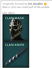 Clan items