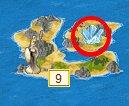 Остров с хурусталем на карте