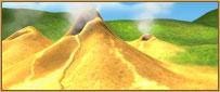 Sulphur pit