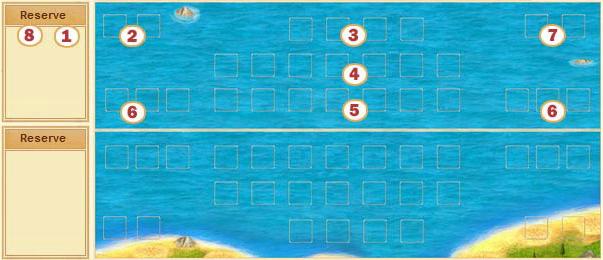 Sea battlefield