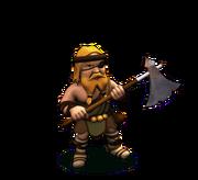 Barbarian Axe Swinger
