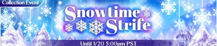 Snowtime strife