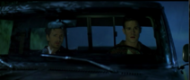 Wray in vehicle