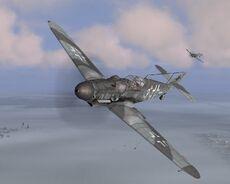 Il 2 shturmovik Bf109 54702