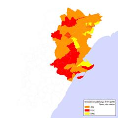 Eleccions Catalunya 2006-11-01