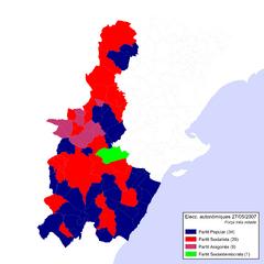 Eleccions Autonòmiques 2007-05-27