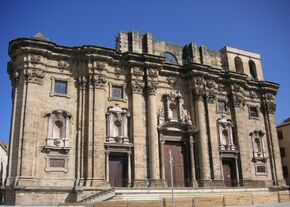Façana de la catedral de Tortosa