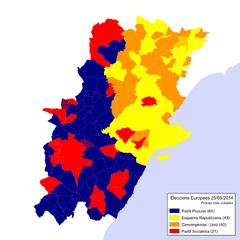 Eleccions Europees 2014-05-25