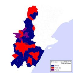 Eleccions Autonòmiques 2011-05-22