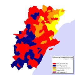 Eleccions Congrés 2004-03-14