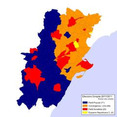 Eleccions Congrés 2011-11-20