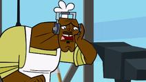 Chef chorando
