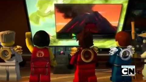 Lego Ninjago Series 2 Rise of the Snakes Episode 10 The Green Ninja
