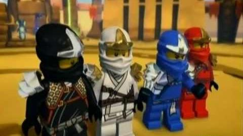LEGO Ninjago Masters of Spinjitzu - Season 2 Episode 6 - The Snake King