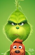The Grinch (2018) poster