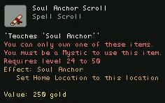 Soul Anchor Scroll