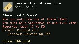 Lesson Five Diamond Skin