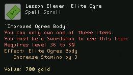 Lesson Eleven Elite Ogre