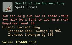 Scroll of the Ancient Song