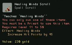 Healing Winds Scroll