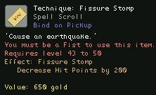 Technique Fissure Stomp