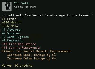 YSS Suit