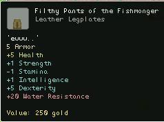 Filthy Pants of the Fishmonger