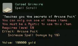 Cursed Grimoire