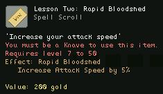 Lesson Two Rapid Bloodshed