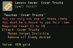 Lesson Seven Cover Tracks