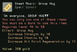 Sheet Music Group Hug