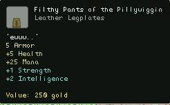 Filthy Pants of the Pillywiggin