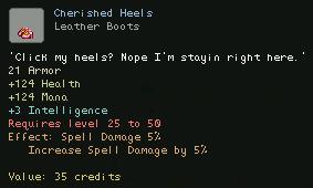 Cherished Heels