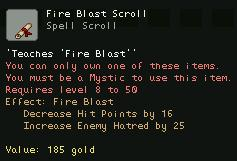 Fire Blast Scroll