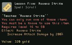 Lesson Five Ravens Strike