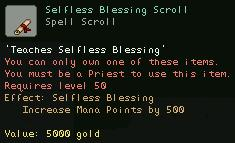 Selfless Blessing Scroll